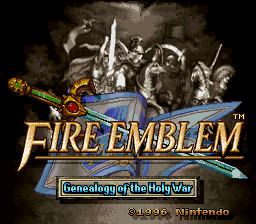 Fire Emblem Genealogy Of The Holy War ROM