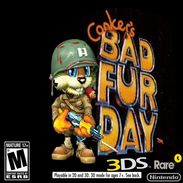 Conker's Bad Fur Day Rom
