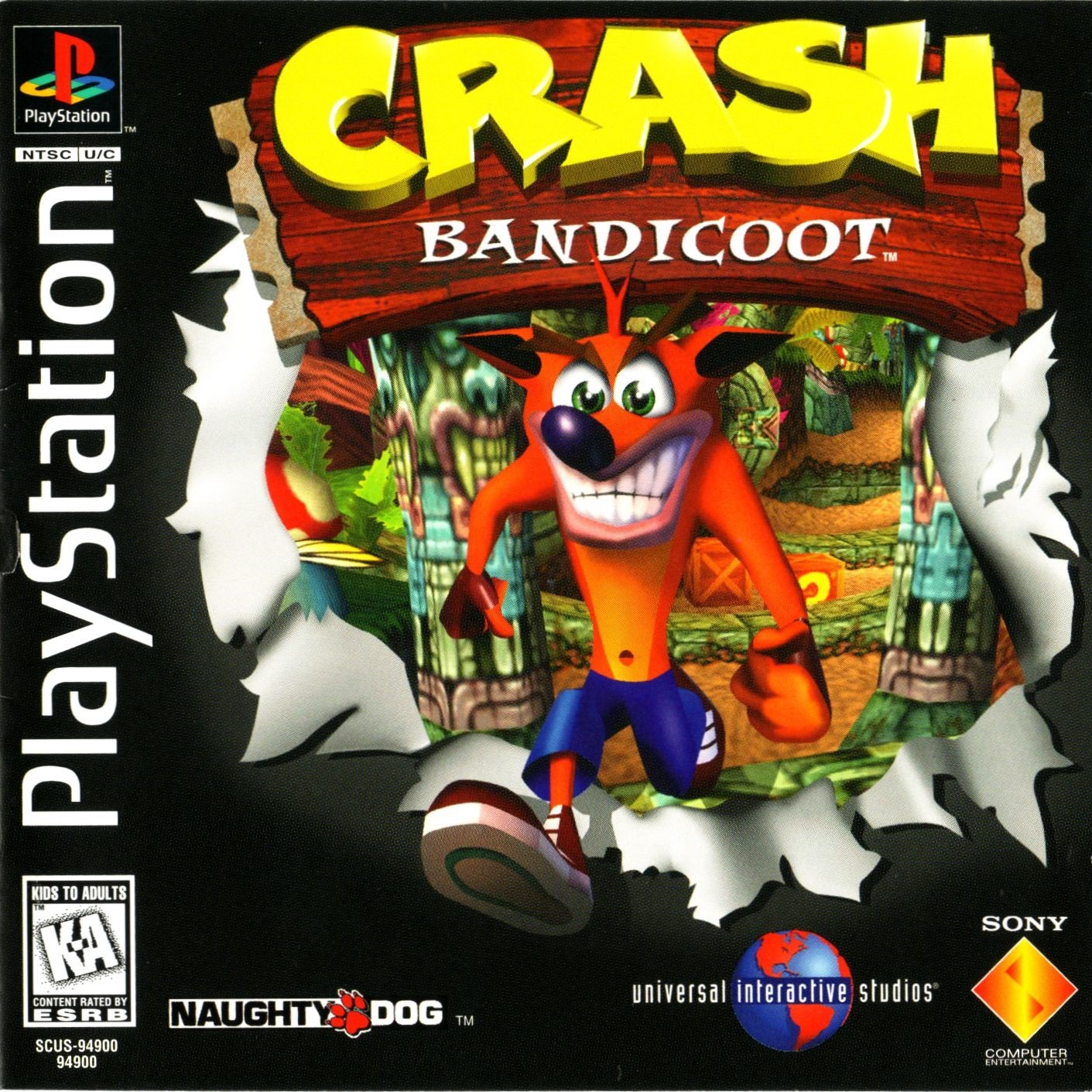 Crash Bandicoot Rom
