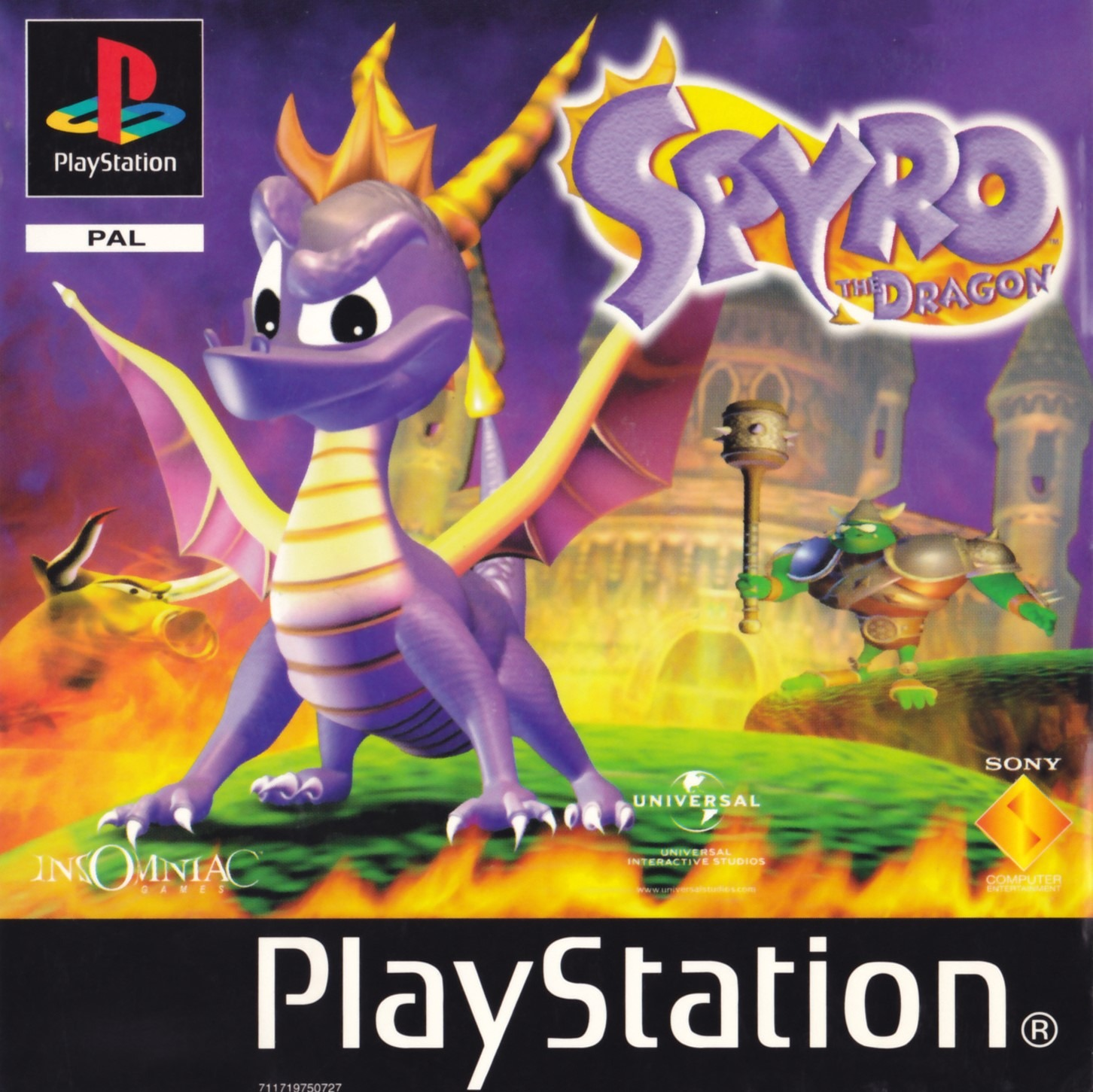 Spyro the Dragon Rom