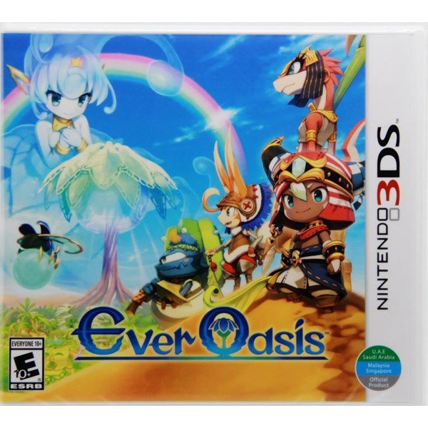 Ever Oasis Rom