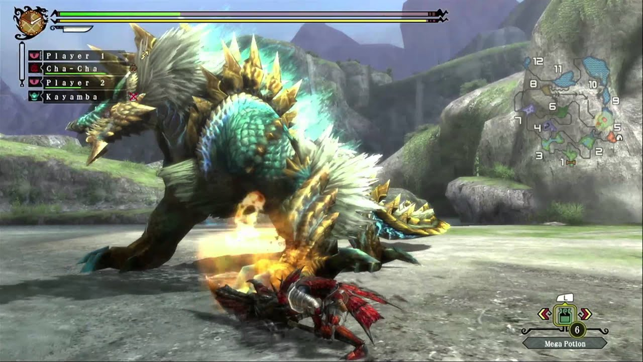 Monster Hunter 3 Ultimate Rom