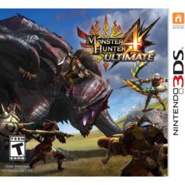 Monster Hunter 4 Ultimate 3DS Rom
