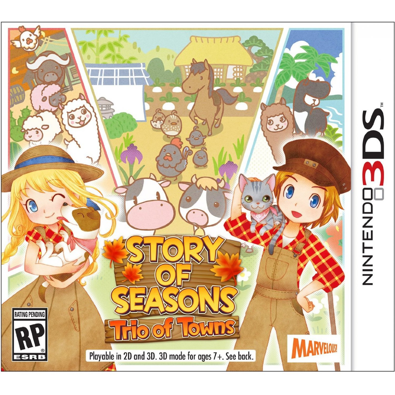 Story of Seasons Trio of Towns Rom
