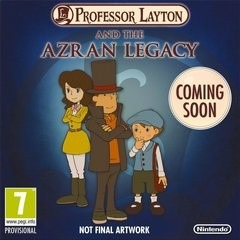 Professor Layton and the Azran Legacy 3DS Rom